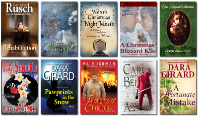 Cover of The Christmas Tales Bundle curated by Dara Girard